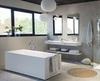 Напольный смеситель для ванны с душевым комплектом ATICA 758503MO - фото №2