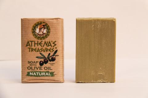 Натуральное оливковое мыло