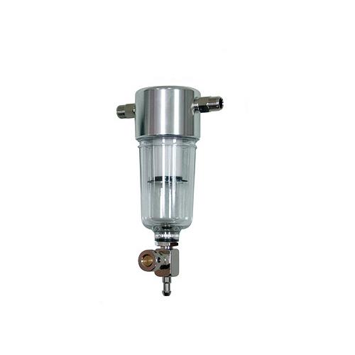 Манометры и регуляторы Сепаратор-регулятор давления - стравливающий. Штуцер1/8`- штуцер1/8` (без манометра) (Sparmax) DH-MF4.jpg