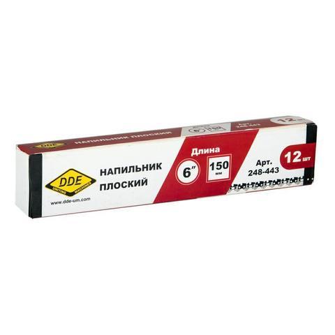 Напильник плоский DDE 15,3 см - 6