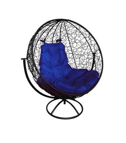 Кресло вращающееся Milagro black/blue