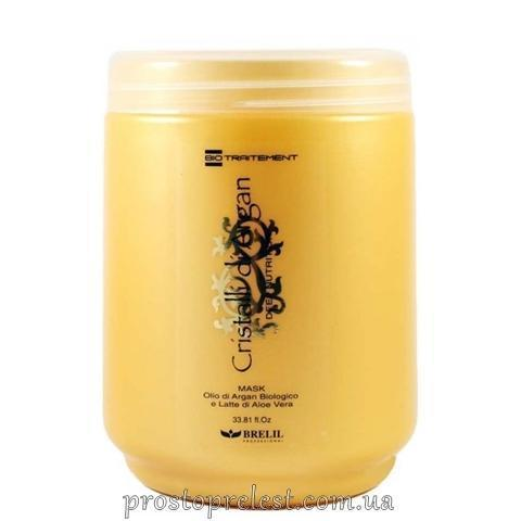 BRELIL - АРГАН Маска для волос увлажняющая (масло арган + алоэ)