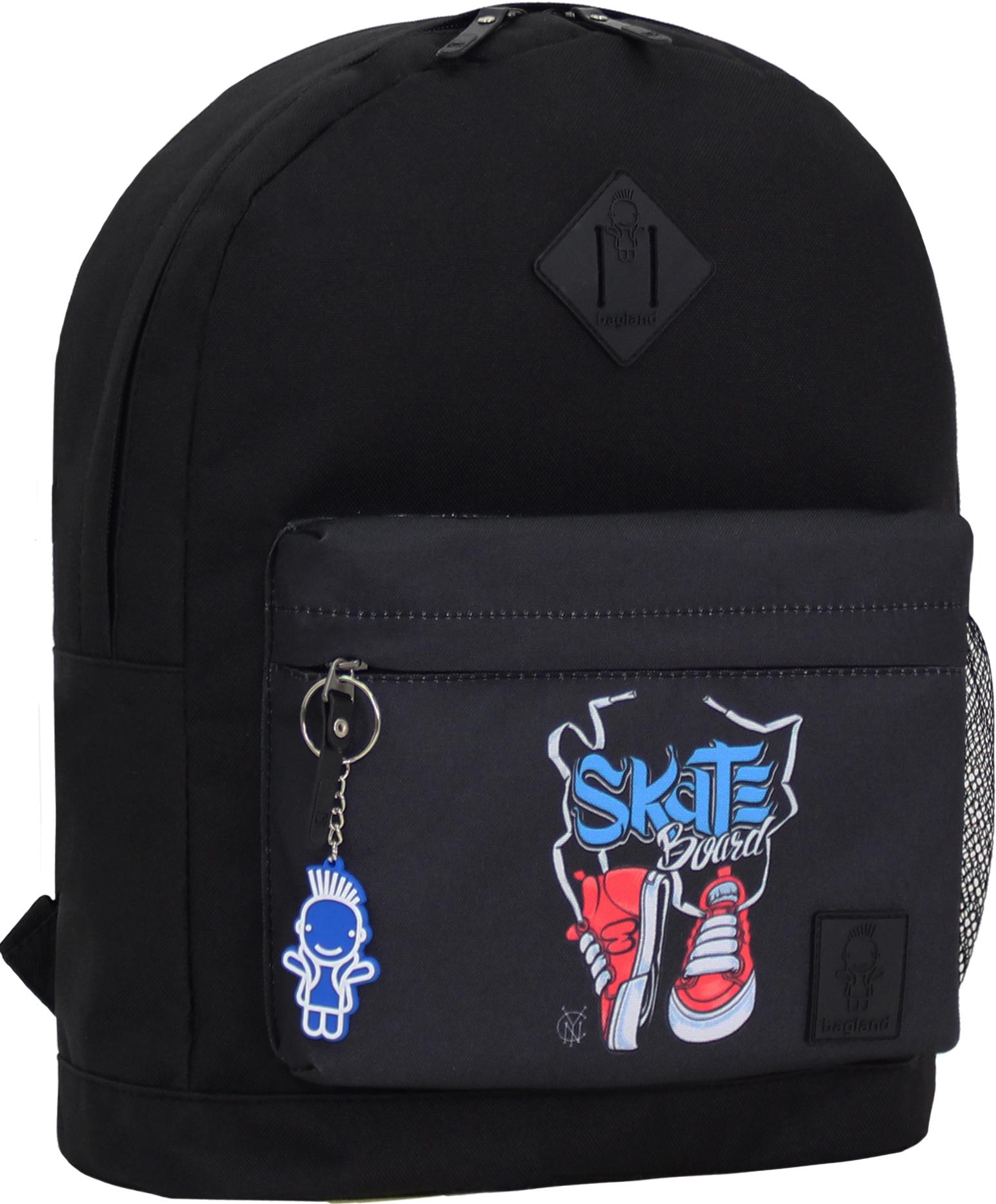 Городские рюкзаки Рюкзак Bagland Молодежный W/R 17 л. черный 201к (00533662) IMG_0972_201к.JPG