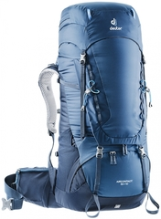 Рюкзак Deuter Aircontact 55+10 midnight-navy (2019г.)
