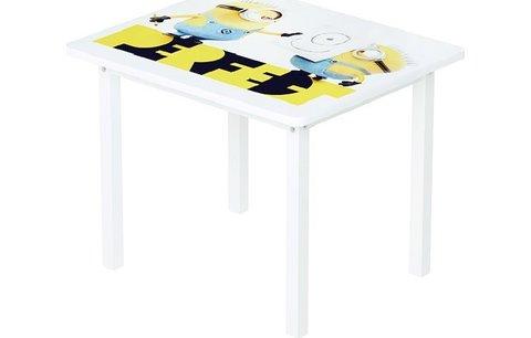Комплект детской мебели Polini kids Fun 105 S Миньоны, желтый