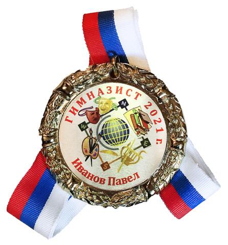 Медаль «Гимназист»  индивидуальная  (искусство)
