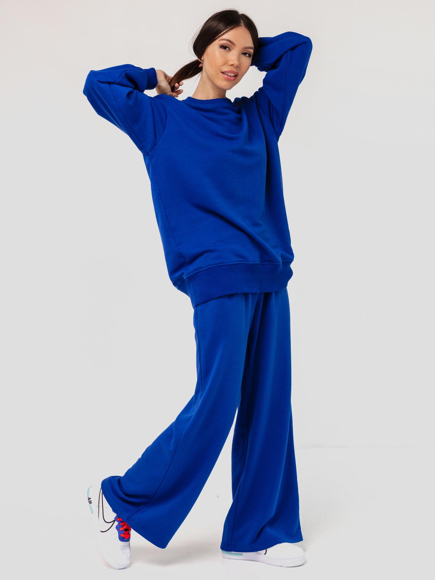 Костюм трикотажный синий YOS
