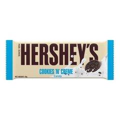 Шоколад Hershey's Cookies 'n' Creme с печеньем и кремом 43 гр