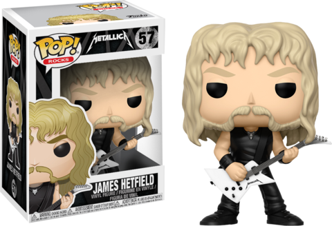 Фигурка Funko Pop! Rocks: Metallica - James Hetfield