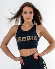 Женский топ Nebbia 830 Gold Mesh