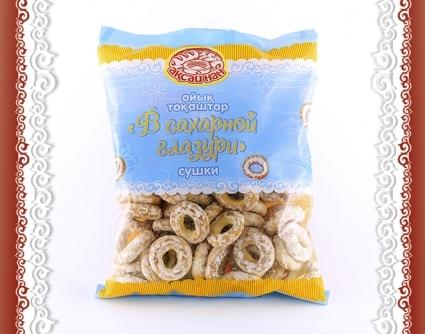 Сушки «В сахарной глазури» Аксай нан 400гр