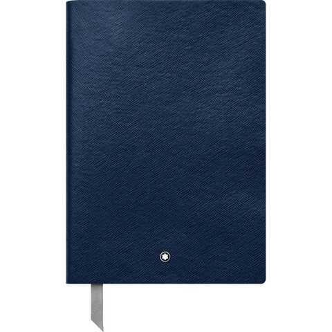 Записная книжка А5 цвета индиго, линованные страницы MONTBLANC