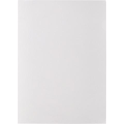 Папка-уголок A4 прозрачная 120 мкм (20 штук в упаковке)