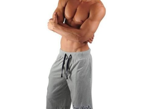 Мужские шорты домашние серые PAPI New York