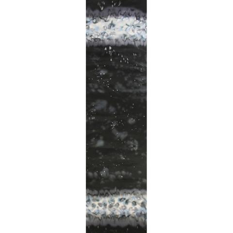 Шелковый шарф батик Ночь С-21