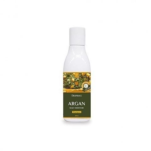 Шампунь для волос с аргановым маслом DEOPROCE ARGAN SILKY MOISTURE SHAMPOO