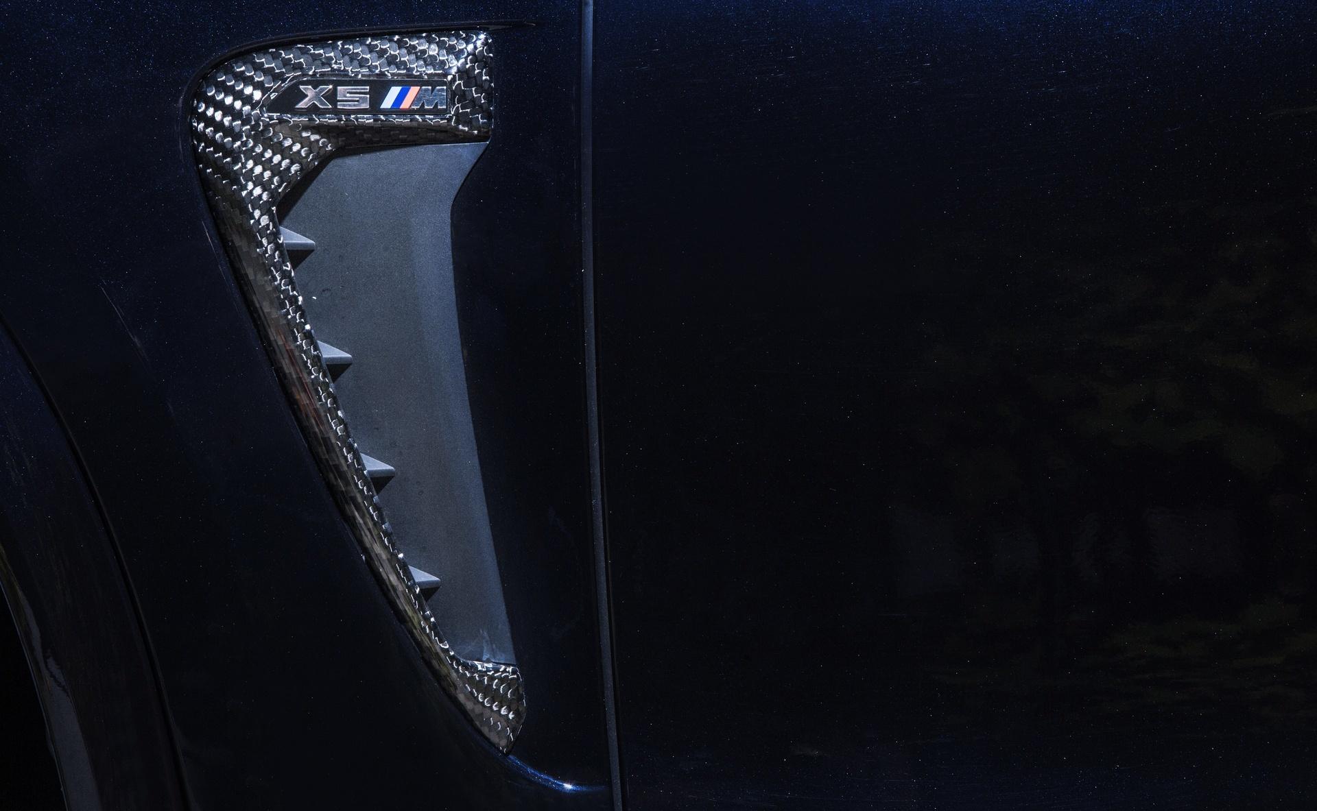 Карбоновые воздухозаборники в крылья для BMW X5M F85