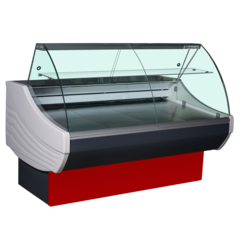 Холодильная витрина SIGMA BASIC 1500V (1580х1090х1230, 7,37 кВт.ч./сут)  °С  -6...+6