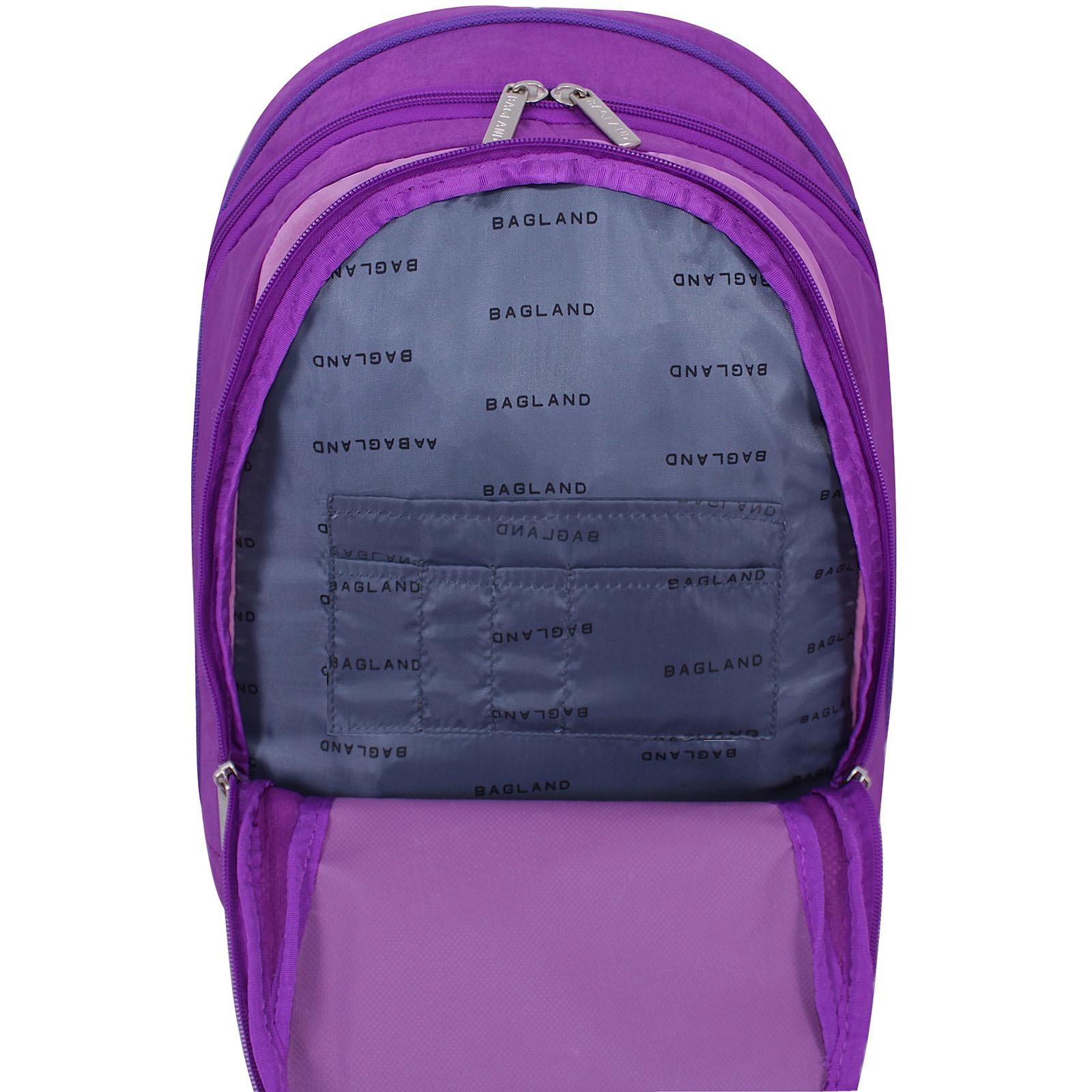 Рюкзак Bagland Ураган 20 л. Фиолетовый бузок (0057470) фото 4