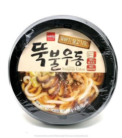 Удон со вкусом пулькоги Bulgogi udong, Корея, 229 гр.