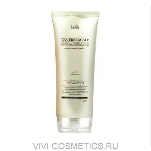 Профессиональная маска для кожи головы   LA'DOR TEA TREE SCALP HAIR PACK (200ml)