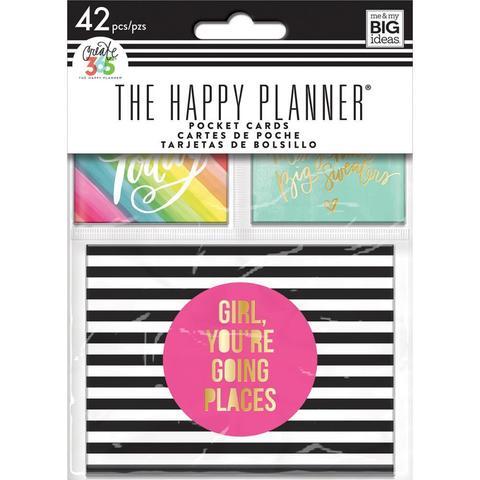Журнальные карточки Create 365 Mini Planner Pocket Cards -42шт.