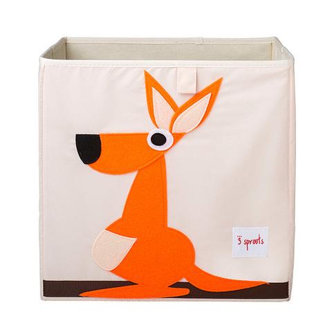 Коробка для хранения 3 Sprouts Кенгуру (оранжевый)