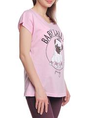 37662-1-3 футболка женская, розовая