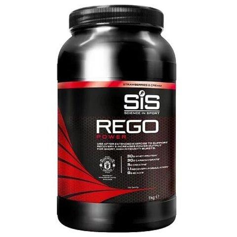 MUFC SiS Rego Power, Клубника со сливками, 1 кг