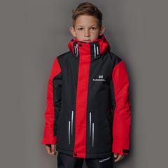 Детская горнолыжная куртка Nordski Jr.Extreme Black/Red
