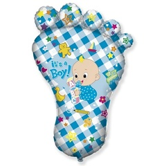 F Мини-фигура Ножка малыша, Голубой, 14''/36 см, 5 шт.