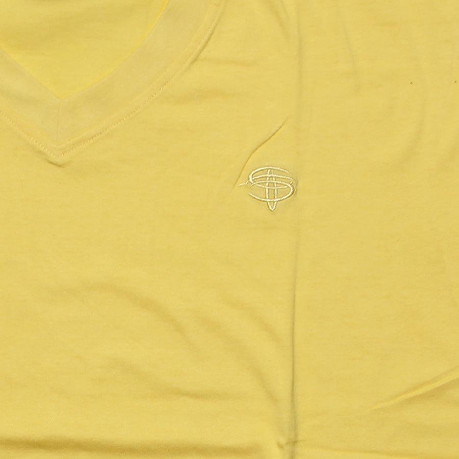Желтая футболка фото 2