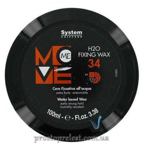 Dikson Move Me 34 Н2О Fixing Wax - Воск на водной основе