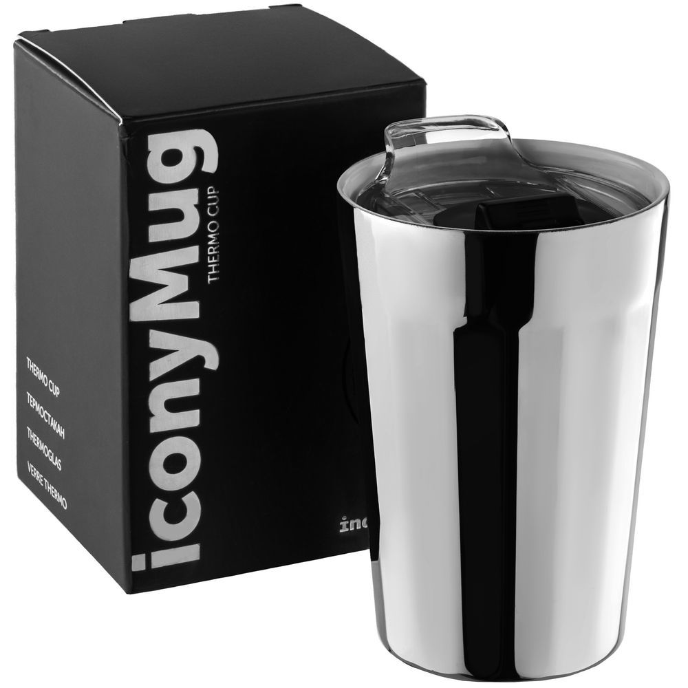 iconyMug, shiny silver