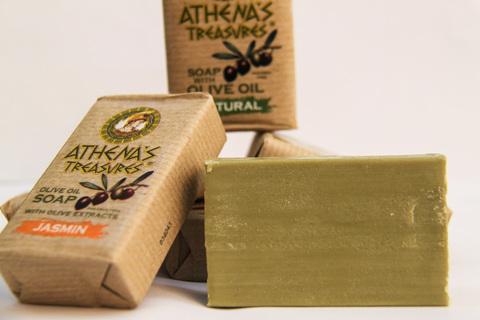 Греческое оливковое мыло