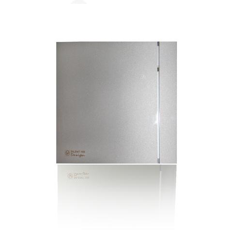 Накладной вентилятор Soler & Palau SILENT-200 CHZ DESIGN-3С SILVER (датчик влажности)