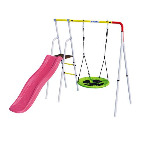 Детский спортивный комплекс для дачи ROMANA Лето (Без фона)