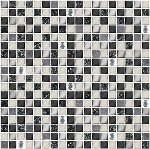 Мозаика  Vela Nero 300х300 (кв.м.)
