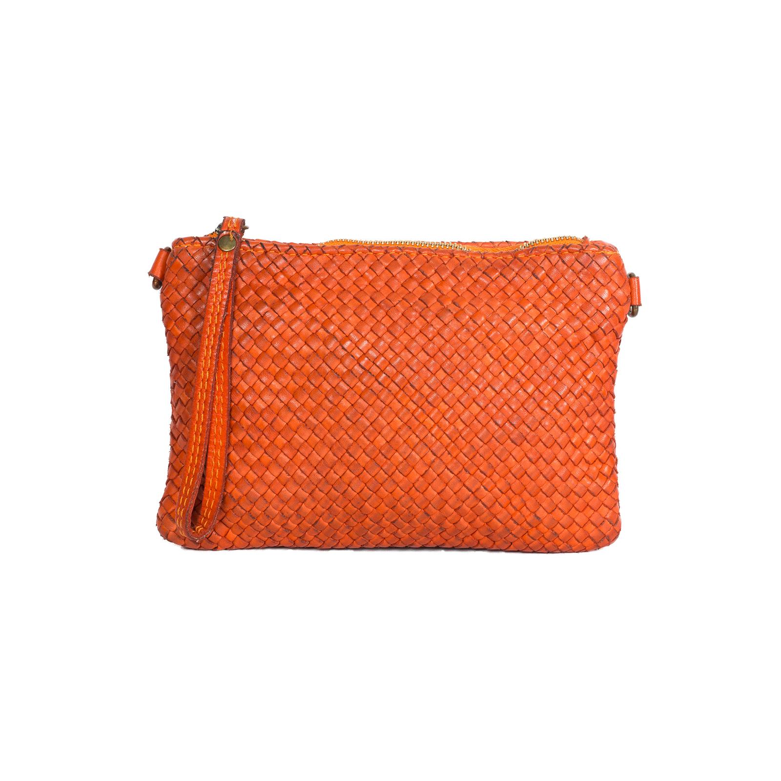Crossbody, UNO VINTAGE, Khana (оранжевый)