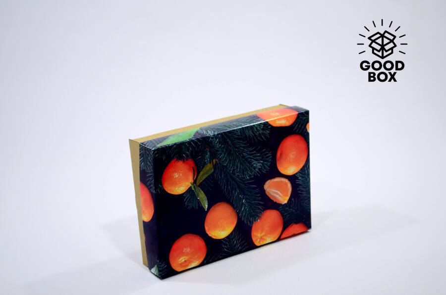 Мандаринка - новогодняя коробка