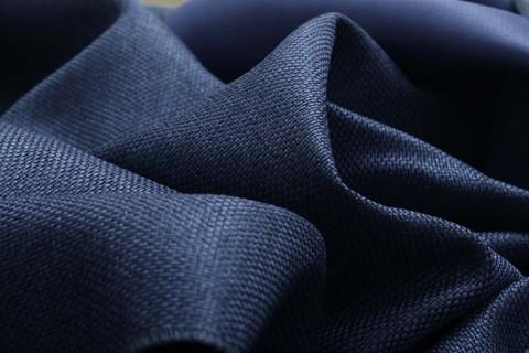 Блэкаут рогожка для штор синяя. Ш-280 см. Арт. 818-19