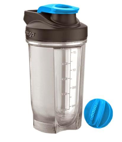 Шейкер Contigo Shake & Go (0,59 литра), голубой