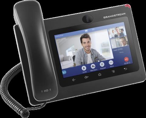 Grandstream GXV3370 - IP видеотелефон. 16 SIP аккаунтов, 16 линий, 7