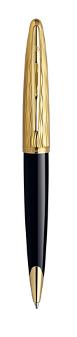 Шариковая ручка Waterman Carene Essential, цвет: Black GT, стержень: Mblue123