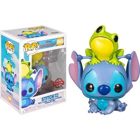 Stitch with Frog (26) Transformers Funko Pop! || Стич с лягушкой