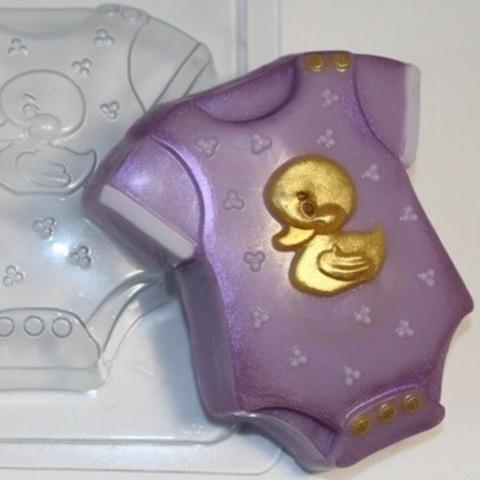 Пластиковая форма для шоколада дет. БОДИ ДЕТСКИЙ (85х80мм)