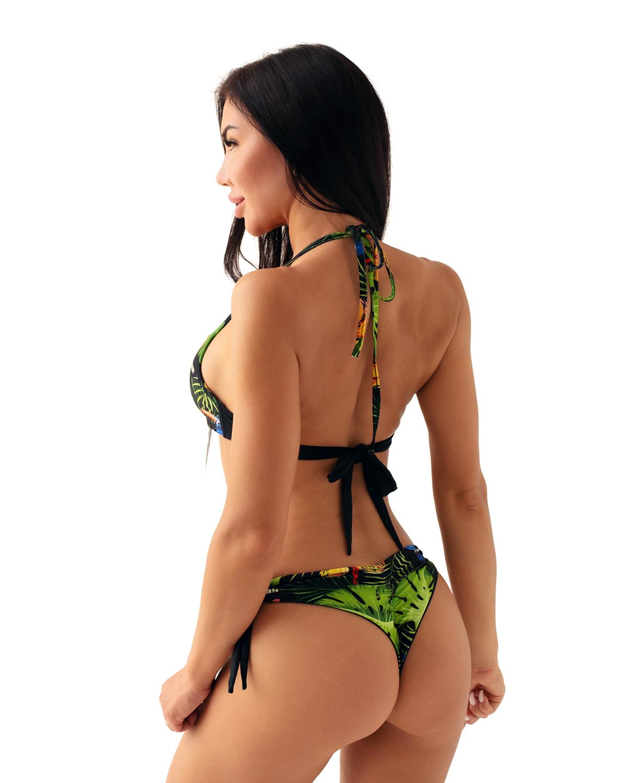 Плавки Nebbia Earth Powered brasil bikini - bottom 557 TR.Green