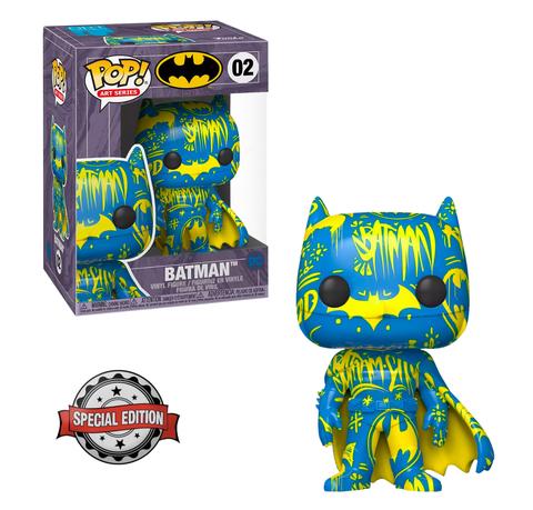 Funko POP! Art Series DC Batman 02 Blue/Yellow w/Case (Exc)