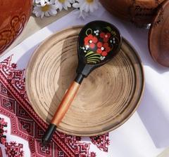 Ложка деревянная полубаская