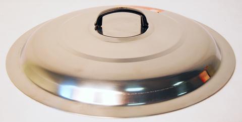 Крышка для вока, Wolmex C3201B-3, нержавеющая сталь, диаметр 46 см